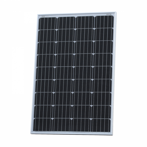 120W 12V solar panel with 5m cable (German solar cells)