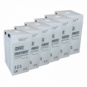 12V 500Ah AGM deep cycle battery bank (6 x 2V batteries) for large power systems and energy storage