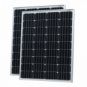 200W (100W+100W) solar panels with 2 x 5m cable (German solar cells)
