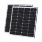 160W (80W+80W) solar panels with 2 x 5m cable (German solar cells)