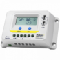 20A 12V/24V solar charge controller / regulator with LCD display and powerful dual USB output (2.4A)