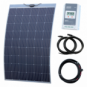 250W semi-flexible solar charging kit with Austrian textured fibreglass solar panel