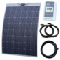 230W semi-flexible solar charging kit with Austrian textured fibreglass solar panel