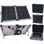 80W 12V folding solar charging kit for motorhome, caravan, boat or any other 12V system - German solar cells