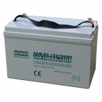100Ah 12V deep cycle AGM battery for motorhomes, caravans, boats, back up and off-grid power systems