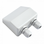 Waterproof double cable entry gland (6-12mm) for motorhomes, caravans, campervans, boats and building installations