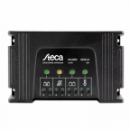 Steca Solarix 20A dual battery solar charge controller for any combination of two 12V / 24V batteries for up to 320W (12V) / 640W (24V) solar input