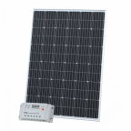 250W 12V solar charging kit with 20A controller and 5m cable (German solar cells)