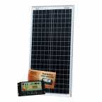 40W 12V dual battery solar kit (German solar cells) for camper / boat with controller and cable