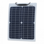 20W Reinforced semi-flexible solar panel with a durable ETFE coating (German solar cells)