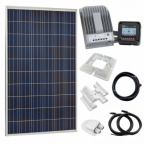 275W 12V/24V Complete solar charging kit with 20A MPPT controller (German solar panel)