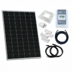 200W 12V / 24V Complete solar charging kit with 20A MPPT controller