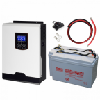 2kW Uninterrupted Power Supply (UPS) System with 2.4kWh energy storage