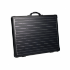 100W 12V lightweight folding solar charging kit with MPPT controller