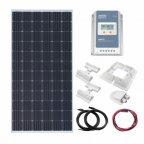 360W 12V/24V Complete solar charging kit with 30A MPPT controller
